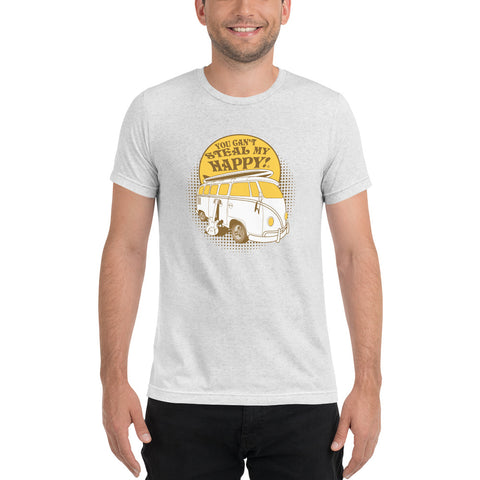You Can't Steal My Happy VW Microbus Short sleeve t-shirt