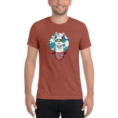 Happy llama Short sleeve t-shirt