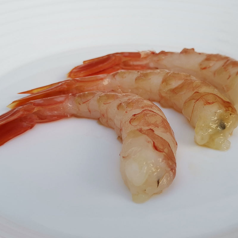 Argentina Aka Ebi (Red Prawn) Cooked