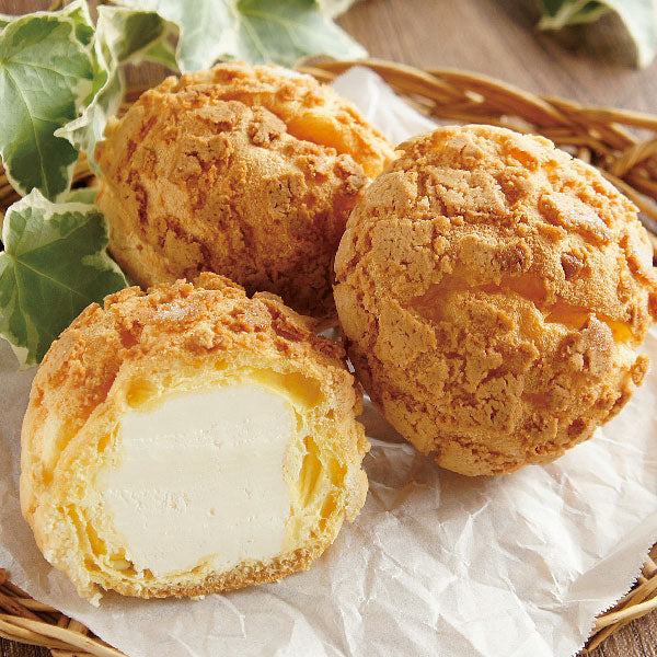 Furano Melon Pan Choux Cream Puff