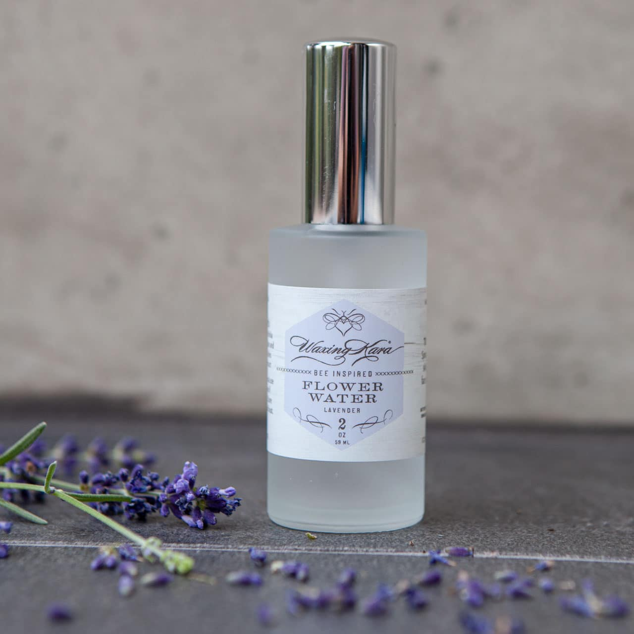 Lavender Flower Water Made On Our Farm From Waxing Kara