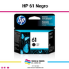 Cartucho de Tinta Original con: HP 61 Black