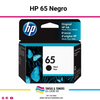 Cartucho de Tinta Original con: HP 65 Black