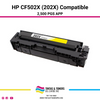 HP CF502X (202X) Yellow Compatible