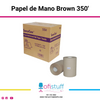 Papel de Manos Brown 350'