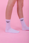 Clearly Ugly Logo Socks