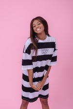 Striped Dream T-Shirt-Dress