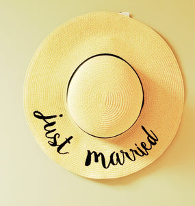 Just Married Honeymoon Hat - Chicoras