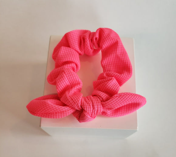 Pattern Scrunchies with Bow - Chicoras