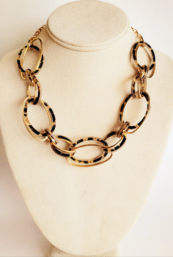 Animal print necklace - Chicoras