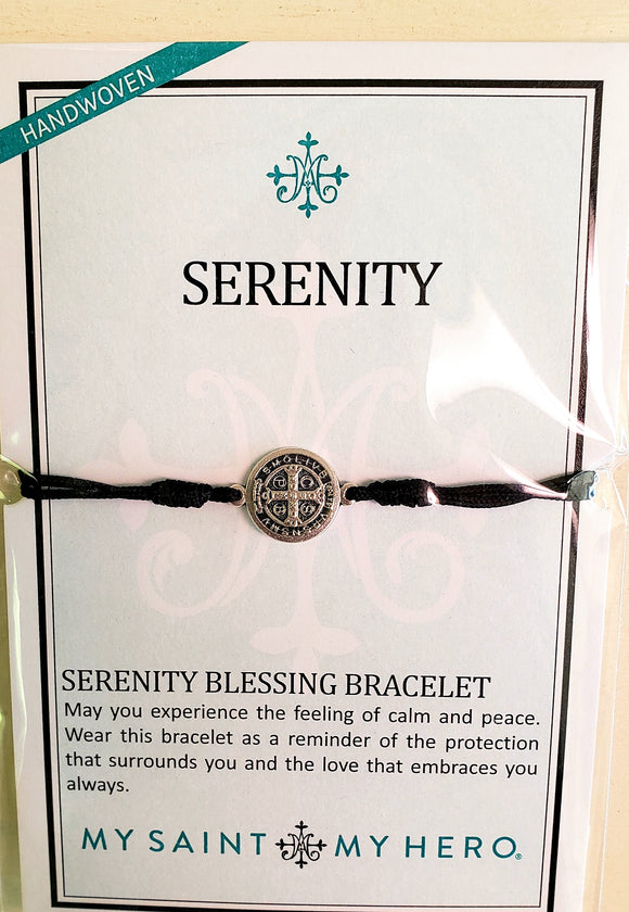 My Saint My Hero Serenity Prayer Bracelet - Chicoras
