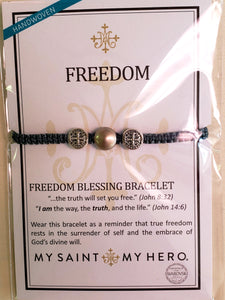 My Saint My Hero Freedom Bracelet - Chicoras
