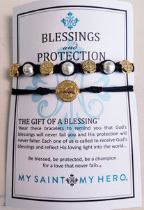 My Saint My Hero Blessings and Protection Bracelet - Chicoras
