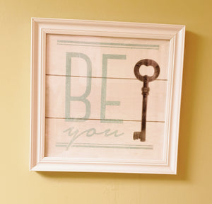 Framed Be You Picture- PICK UP AT STORE ONLY - Chicoras