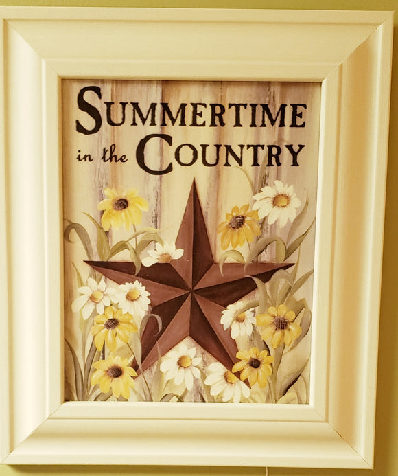 Summertime in the Country Picture - PICK UP ONLY - Chicoras