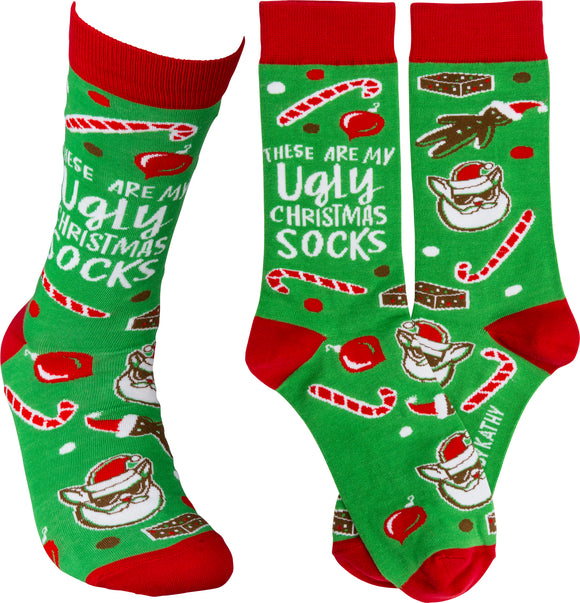 Ugly Christmas Sock - Chicoras