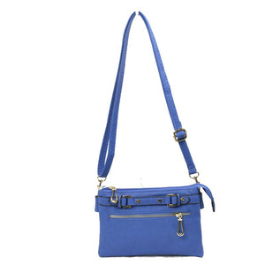 Buckle Front Crossbody Handbag - Chicoras