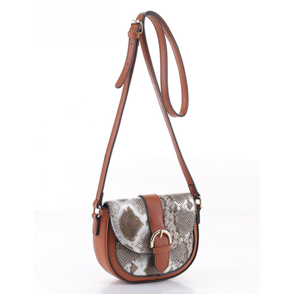 Brown  Fashion Crossbody Handbag - Chicoras