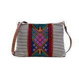 Aztec Embroidered Cross body Bag - Chicoras