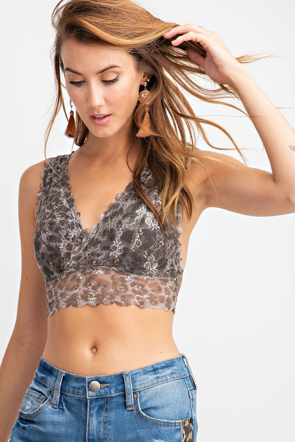 Lace Bralette - Chicoras