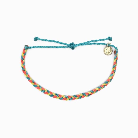 Pura Vida Mini Braided Bracelet - Chicoras