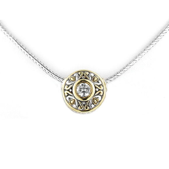 John Medeiros  Circle Necklace - Chicoras