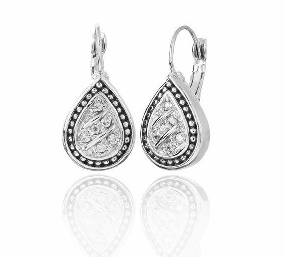 John Medeiros Sparkling Seas Earrings - Chicoras