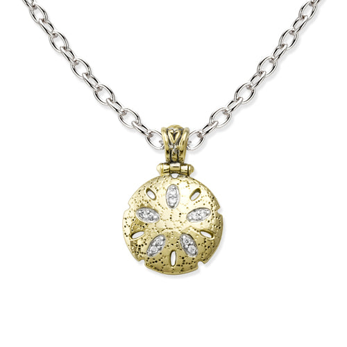 John Medeiros Sand Dollar Necklace - Chicoras