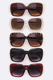 Assorted Oversize Sunglasses - Chicoras