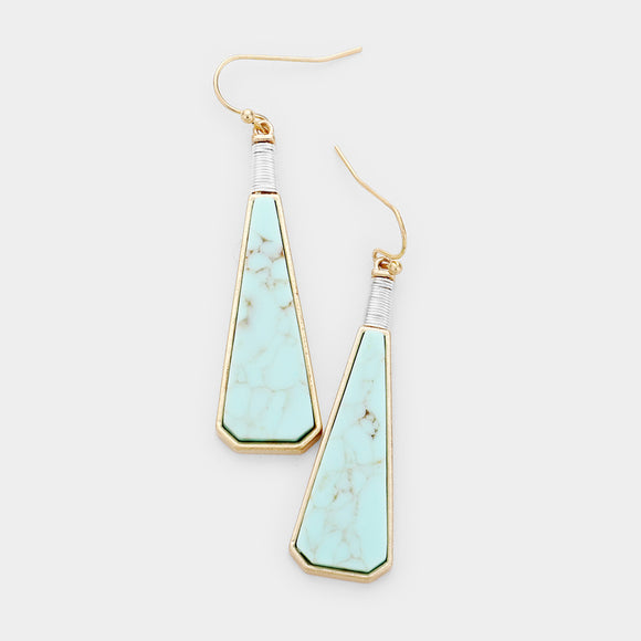 Turquoise Earrings - Chicoras