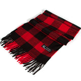 Cashmere Feel Plaid Scarf - Chicoras