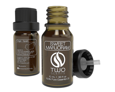 Sweet Marjoram 100% Essential Oil Dropper with Cap
