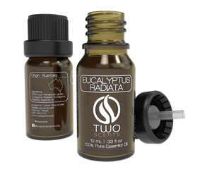 Eucalyptus Radiata 100% Essential Oil Dropper with Cap