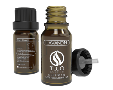 Lavandin 100% Essential Oil Dropper with Cap