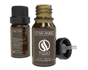 Anise Star 100% Essential Oil Dropper with Cap