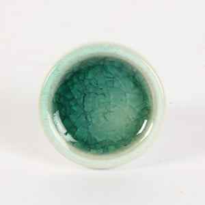 Veined Knob - Teal
