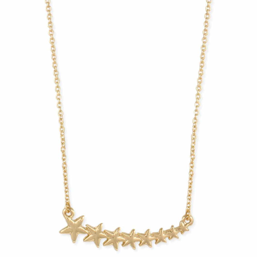 Star Gold Bar Necklace