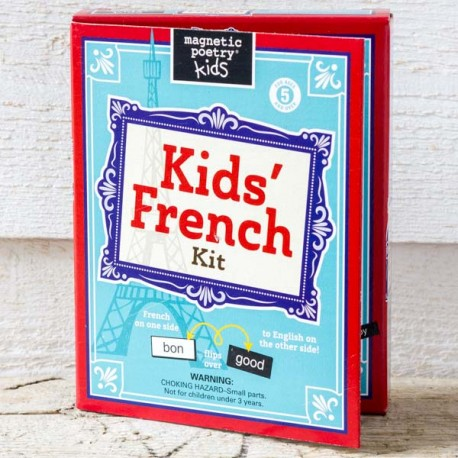 Kids French Magnetic Poetry Kit