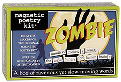Magnetic Poetry - Zombie