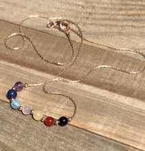 Load image into Gallery viewer, Simply Solrayz Chakra Necklace