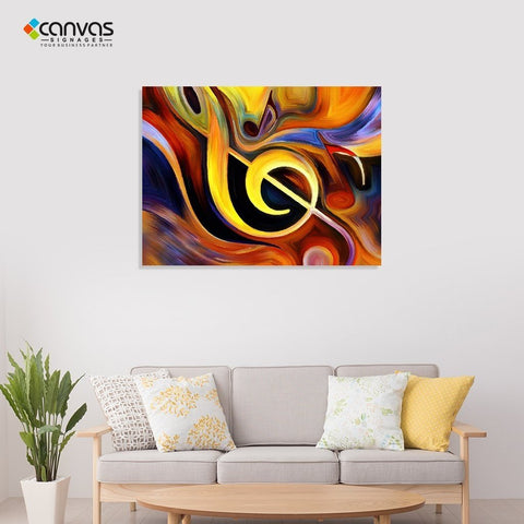 Modern Abstract Wall Art Painting.