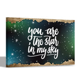 You`re the star in my sky