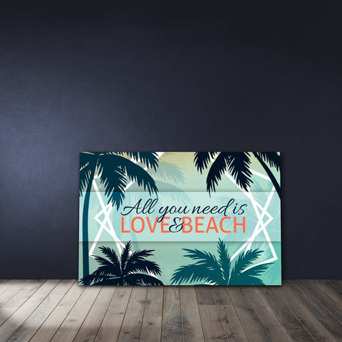 All you need is love & beach