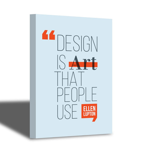 Design is Art.