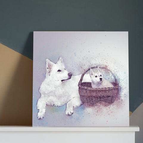 Modern Contemporary Pet Decor Art