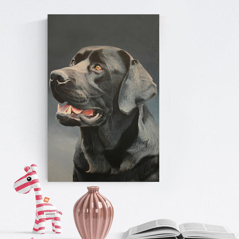 Modern Pet Wall Art Painting.