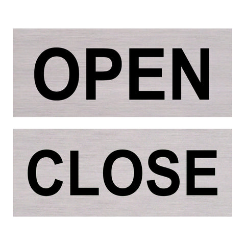 Open/Close Double Sided
