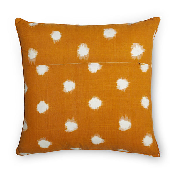 Cushion 18x18 - Ikat with Embroidery