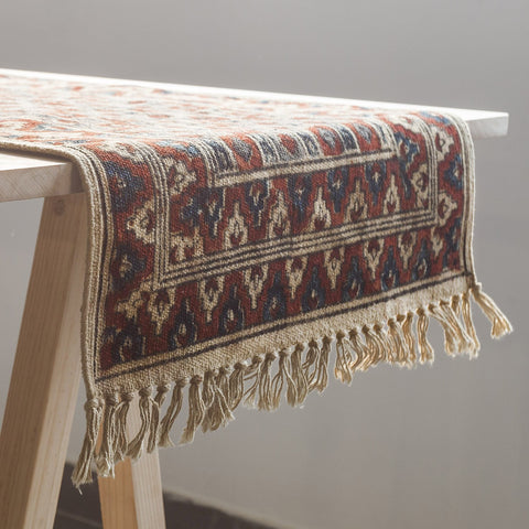 Kalamkari Table Runner - Eyaas