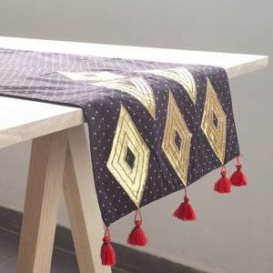 Ajrakh Table Runner - Eyaas